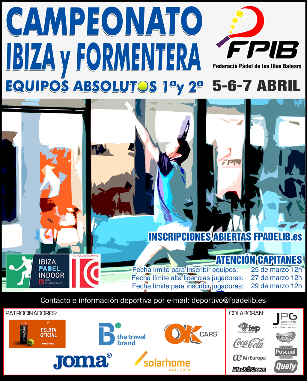 2019 Camp Ibiza Equipos Absolutos 1a y 2a